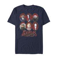 Addams Family Men's Portrait Panels T-Shirt