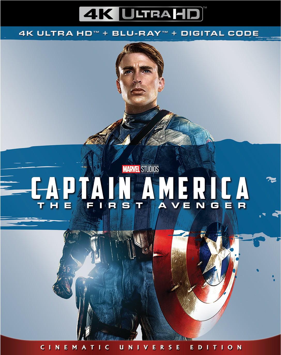 Uhd Capitan America El Primer Vengador Captain America The First Avenger 2011 Joe Johnston Y Secuelas