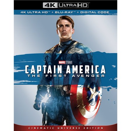 Captain America: The First Avenger (4K Ultra HD + Blu-ray + Digital) - 1990 Captain America Movie