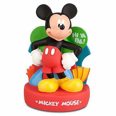 disney parks mickey mouse hi ya pal plastic coin bank new (Plastic Banks)