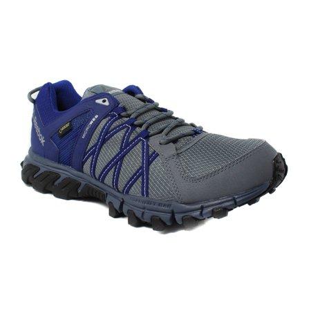 Reebok - Reebok Mens Trailgrip RS 5.0 GTX Blue Hiking 53f912ebb