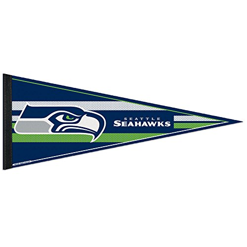 Seattle Seahawks Official NFL 12 inch x 30 inch  Felt Pennant by Wincraft