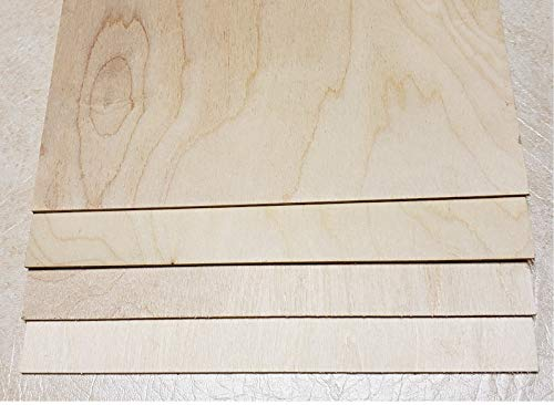 "1 8"" x 12"" x 12"" Baltic Birch Plywood Great for Laser, CNC, and Scroll Saw. 40pc by WOODNSHOP by"