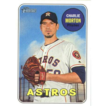 2018 Topps Heritage #309 Charlie Morton Houston Astros Baseball Card