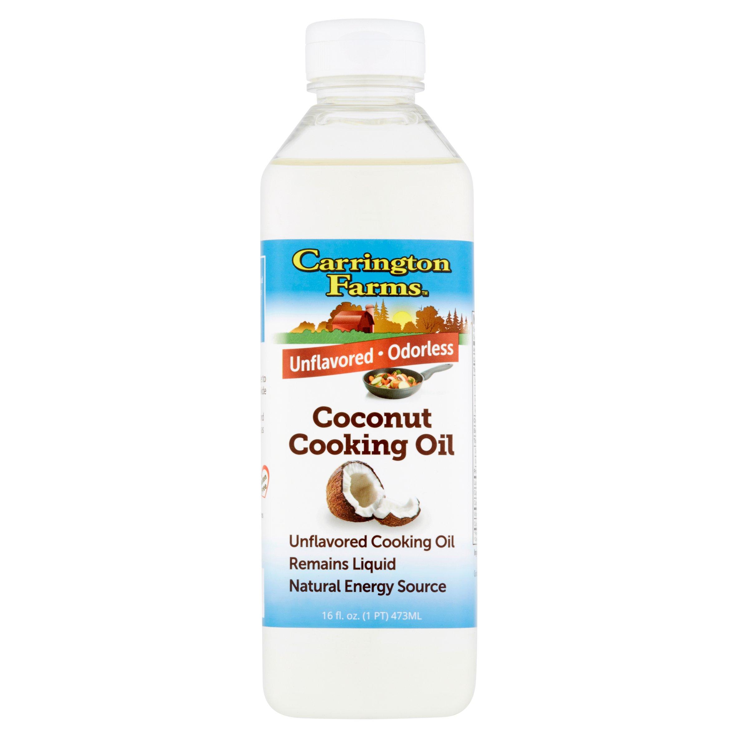 Carrington Farms Coconut Cooking Oil 16fl.oz by Carrington Farms