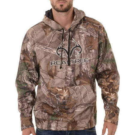 1cd57590f3133 and Mossy Oak Mens Camo Performance Pullover Fleece Hoodie - Walmart.com