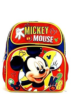 802bf46ee03 Product Image Small Backpack - Disney - Mickey Mouse Red M28 3D 12