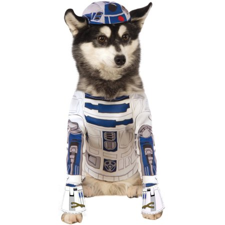 Star Wars R2D2 Pet Costume M - Diy R2d2 Costume