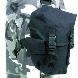 Blackhawk Omega Elite Gas Mask Pouch Black 56GM00BK by Blackhawk