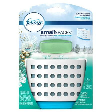 Febreze SmallSpaces Air Freshener, Fresh Cut Pine - Walmart.com