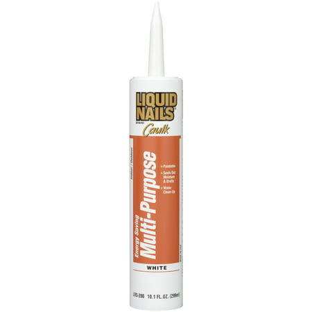 Liquid Nails Energy Saving Multi-Purpose Latex Caulk, 10.1 fl.