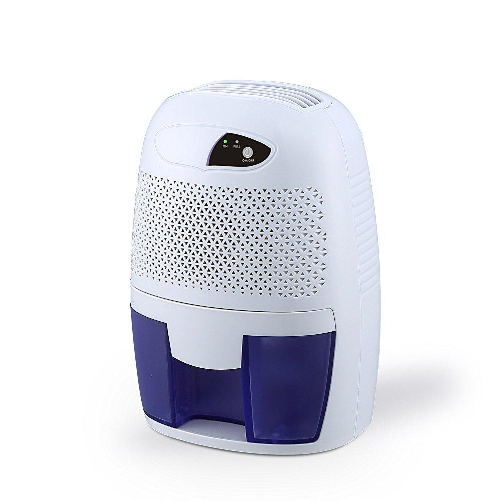 Focipow compact portable electric mini dehumidifier for living