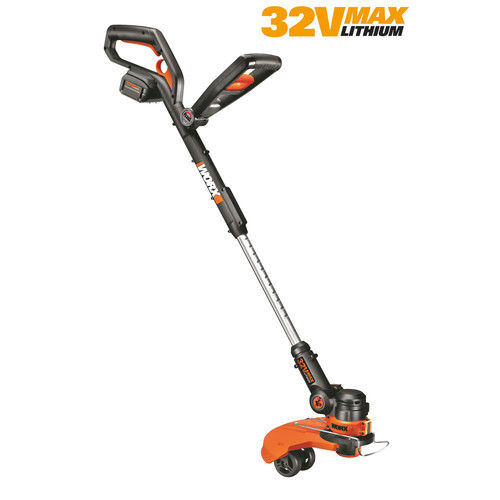 Worx WG175 GT 2.0 32V Max Lithium Cordless 3-in-1 Grass Trimmer Edger Mini-Mower by WORX