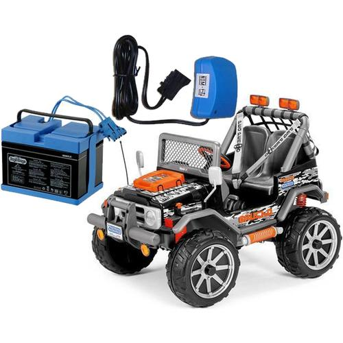 Peg Perego IGOD0075USK Gaucho Rock In Power Ride On With Battery And Charger by Peg Perego