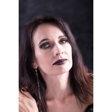 Gothic Makeup (LAMINATED POSTER Woman Cosmetics Makeup Studio Gothic Make-up Goth Poster Print 24 x)