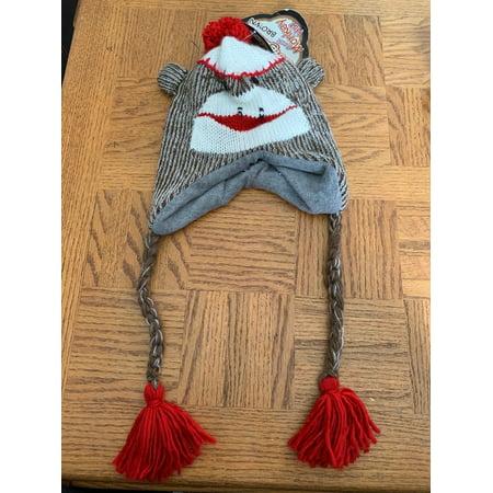 Children's Original Sock Monkey Winter Hat 0113 - Monkey Hats