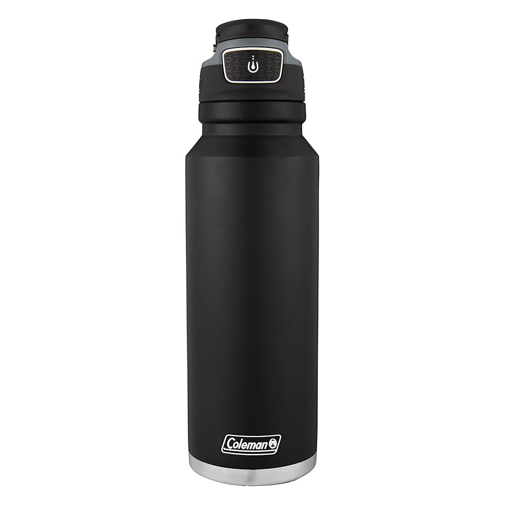 Coleman Autoseal FreeFlow Stainless Steel Insulated Water Bottle, 40 oz