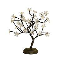 Lightshare 18-inch Crystal Flower LED Bonsai Tree, Warm White