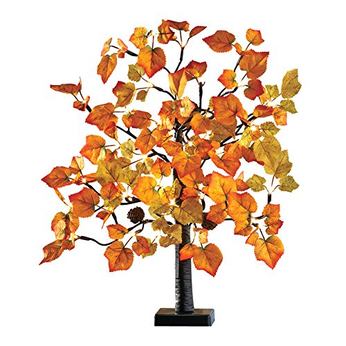 Lighted Tabletop Maple Tree