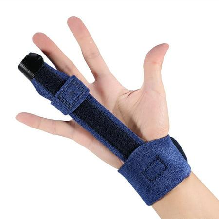 Garosa Adjustable Finger Brace, Adjustable Finger Splint Metacarpal Fracture Healing Mallet Finger Correcting Support Brace - image 6 de 8