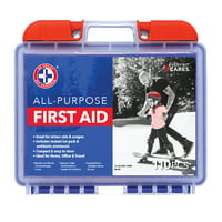 Be Smart Get Prepared 110 Piece First Aid Kit