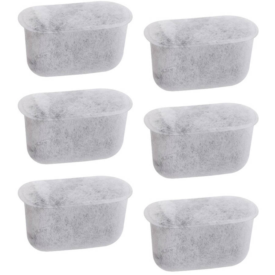 Newhouse Charcoal Filters (6-Pack) Replacement Charcoal Water Filters for Cuisinart Coffee Machines