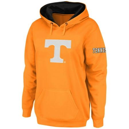 Tennessee Volunteers Stadium Athletic Women's Big Logo Pullover Hoodie - Tennessee Orange ()