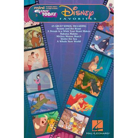Disney Favorites : Mini E-Z Play Today Volume - Ez Play Today Sheet Music
