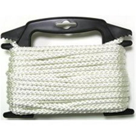 ND650-4W Rope Nylon Braid Diamond 0.19 In x 50 Ft. ()