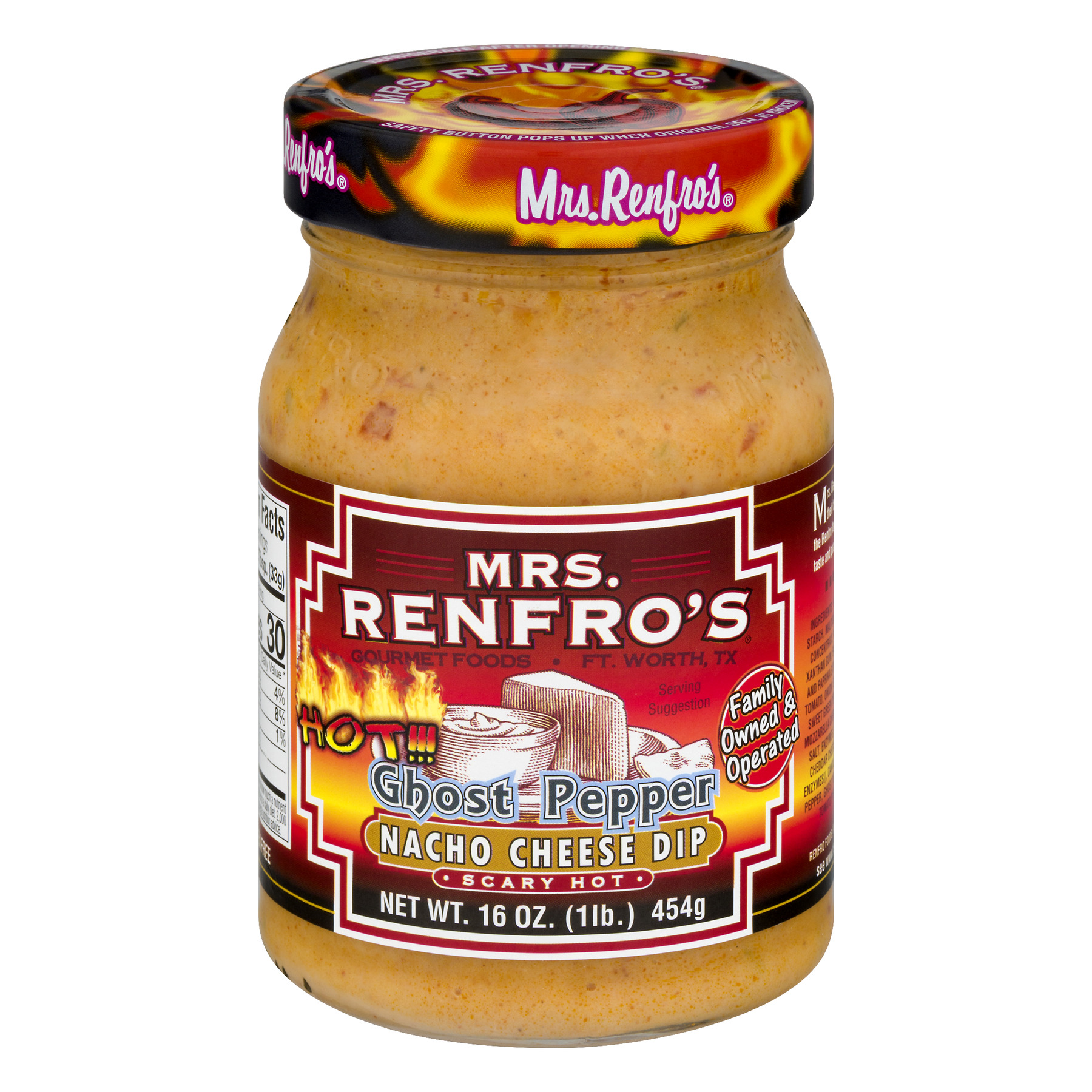 (2 Pack) Renfro Foods Mrs Renfros  Nacho Cheese Sauce, 16 oz