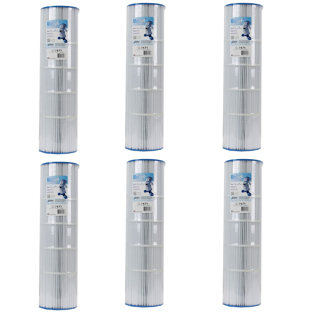 Unicel Clean & Clear Plus Replacement Cartridge Filter C-7471 PCC (6 Pack)