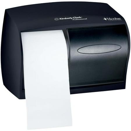 Victorian Tissue Dispenser (Kimberly-Clark Professional, KCC09604, Kimberly-ClarkDouble Roll Coreless Tissue Dispenser, 1 Each, Smoke)