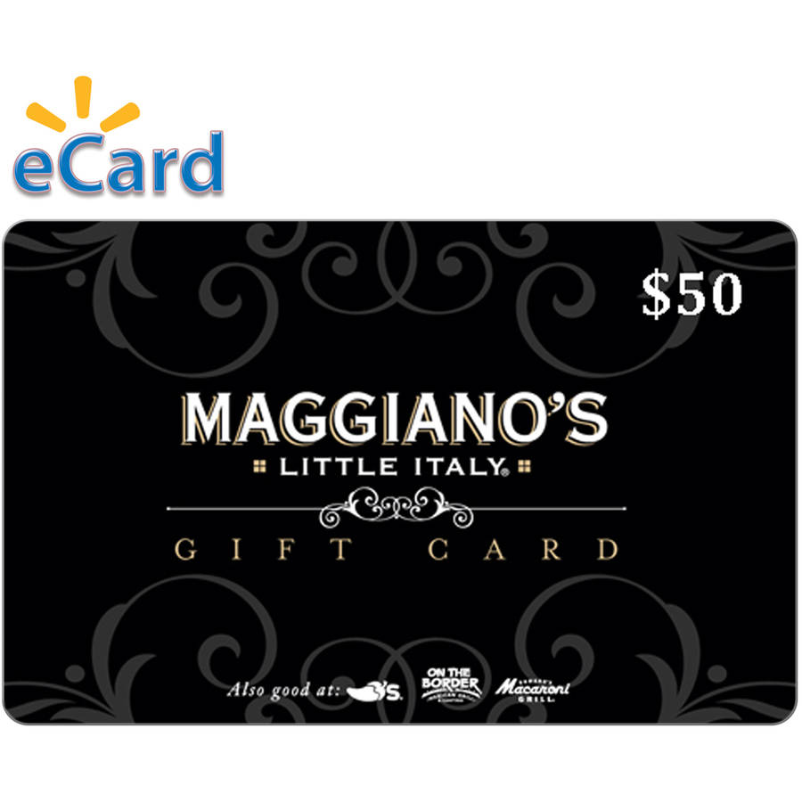 Maggiano's $50 Card (Email Delivery)