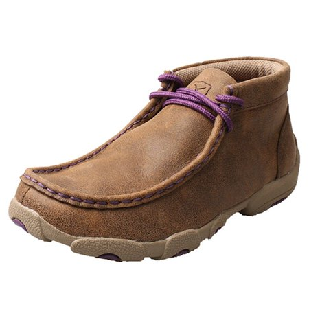 Twisted X Boys' And Purple Driving Mocs - Ydm0012 ...