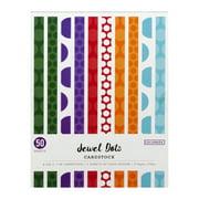 "Colorbok 8.5"" x 11"" Jewel Dots Cardstock, 50 Count"