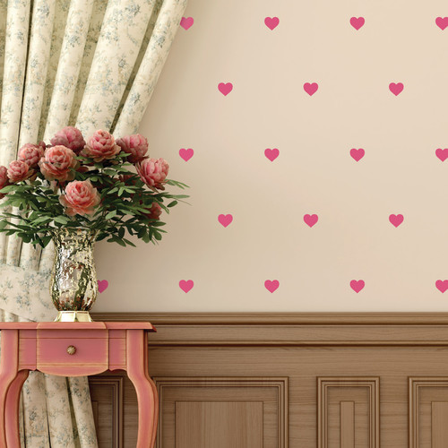 Walls Need Love Hearts Mini-Pack Wall Decal