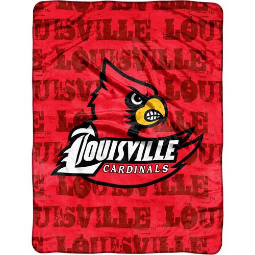 """Ncaa Louisville Cardinals 46"""" X 60"""" Micr"""