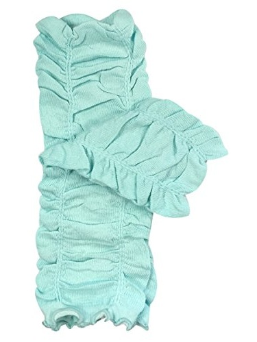 ALLYDREW Solid Baby Leg Warmer & Solid Toddler Leg Warmer for Boys & Girls, Scrunch Teal