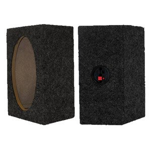 - Bassworx 6511CX Single 6.5-Inch Sealed Full Range Speaker Enclosure - pair