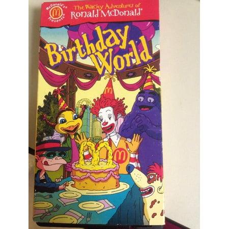 the wacky adventures of ronald mcdonald](Ronald Mcdonald Costumes)