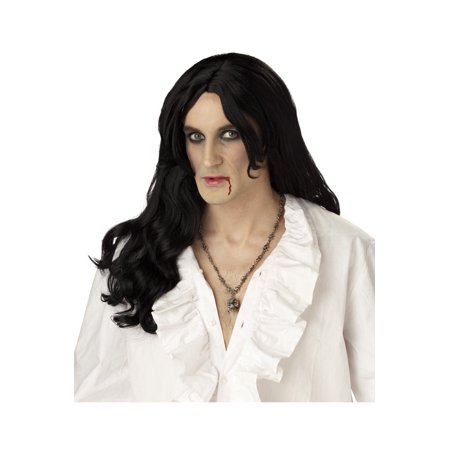 Mens Vampire Wig (Old World Vampire Costume Wig)