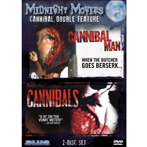 Midnight Movies, Vol. 8: Cannibal Double Feature - Cannibal Man / Cannibals (Widescreen)