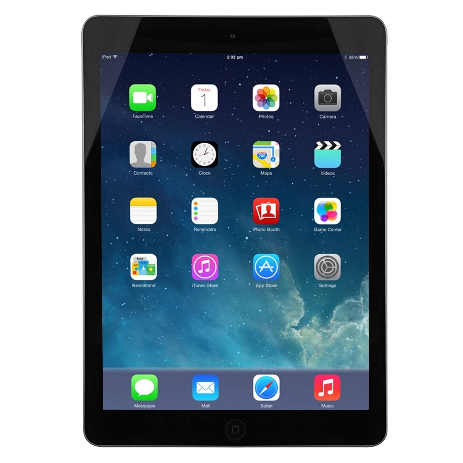 Apple iPad Air 32 GB Tablet (Gray) (Certified Refurbished)