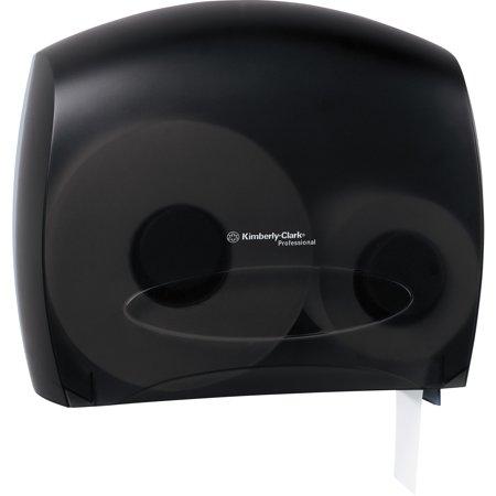 - Kimberly-Clark Professional, KCC09507, JRT Jr Escort Bath Tissue Dispenser, 1 Carton, Smoke