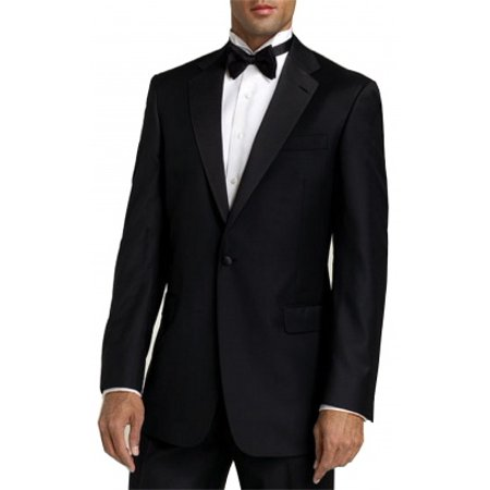 Neil Allyn Tuxedo with Pleated Front, Adjustable Waist Pants