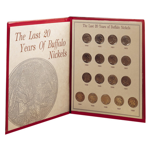 American Coin Treasures Last Twenty Years of Buffalo Nickels Memorabilia