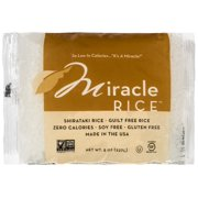 (2 Pack) Miracle Noodle Shirataki Rice, 8 oz