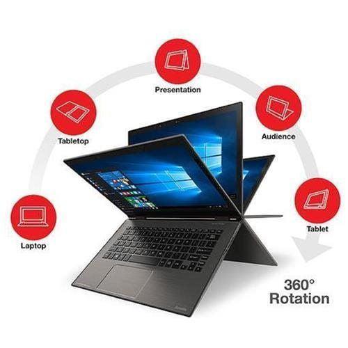 "Toshiba Satellite Radius 2-in-1 12.5"" 4K Ultra HD Touch-Screen Laptop Intel Core i7 8GB Memory 512GB... by Toshiba"