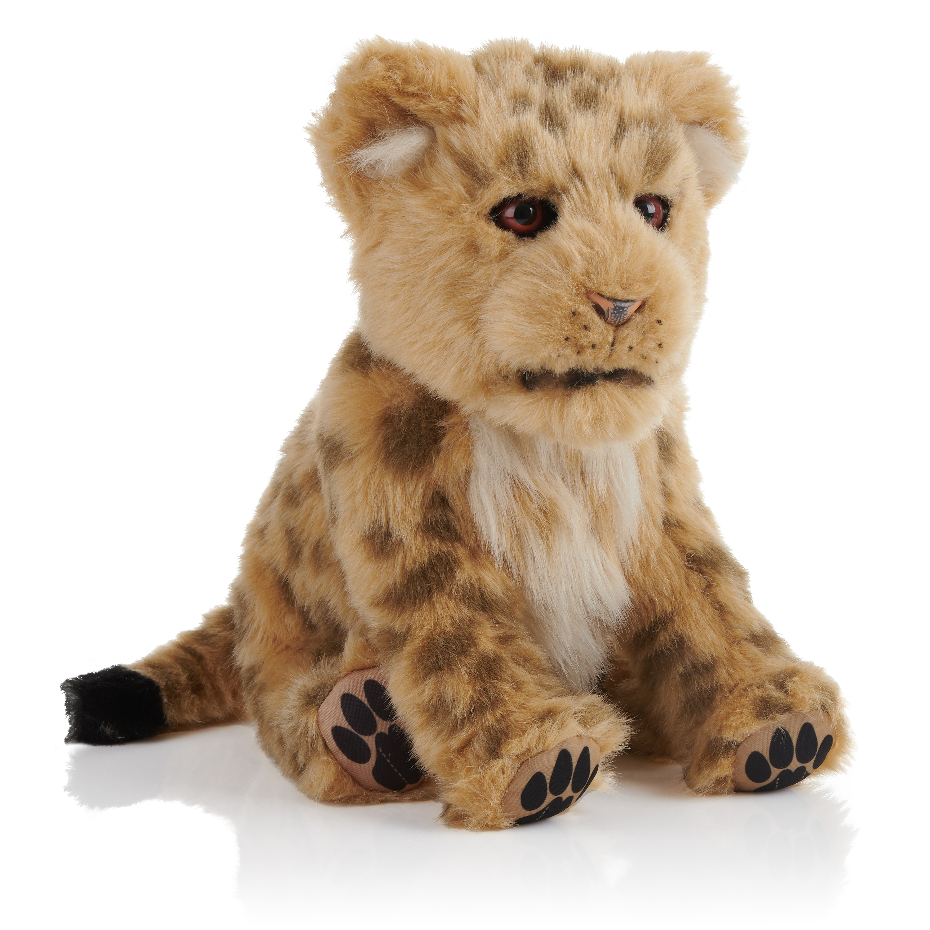 Alive Cubs - Interactive Plush Cub - Lion Cub By WowWee