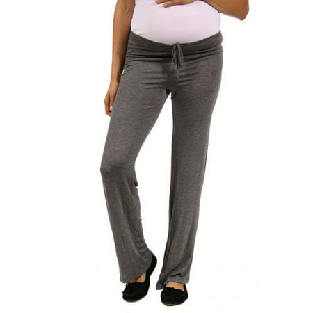 Women's Draw String Maternity Plus Narrow (Drag Pants)